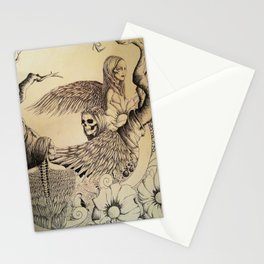 i'm on top of the world Stationery Cards