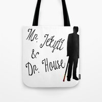 greg guillemin Tote Bags featuring Greg by Vi91