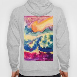 My Starry Watercolor Night Hoody