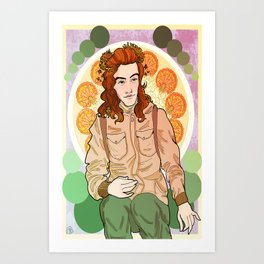 Art Nouveau Harry Art Print