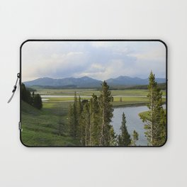 Yellowstone River Valley View Laptop Sleeve