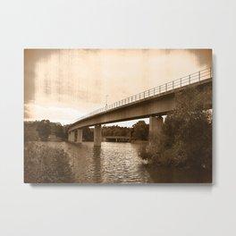 Bridge 67 Metal Print