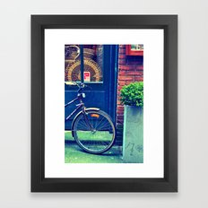 Basket Shop Framed Art Print