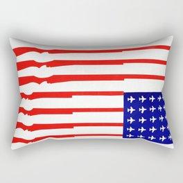 Vintage 1960s Anti Vietnam War Poster Rectangular Pillow