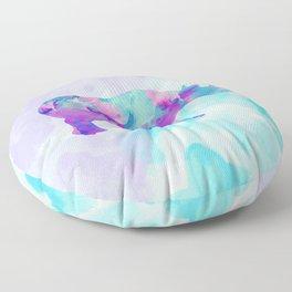 Abstract Rhino B Floor Pillow