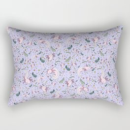 Axolotl Pattern Rectangular Pillow