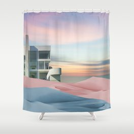 Pastel Minimalism Shower Curtain