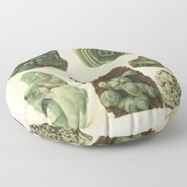 Natural Malachite Floor Pillow