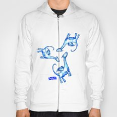 Daily Doodles - Blue dragons Hoody