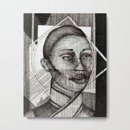 Vivienne Metal Print