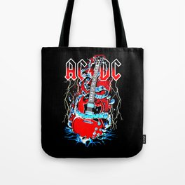 ACDC Guitar Tote Bag