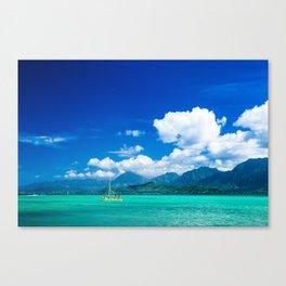 Kaneohe Bay Canvas Print