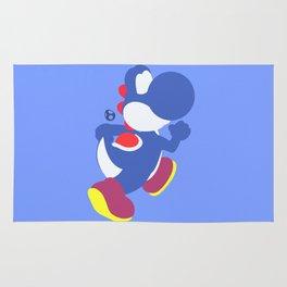 Yoshi(Smash)Blue Rug