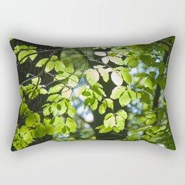 Light in the leaves Rectangular Pillow