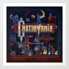 Vania Castle Art Print