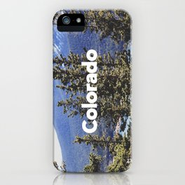 Colorado, Pikes Peak iPhone Case