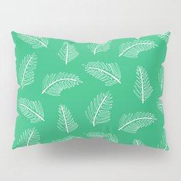 Friendly Ferns Green Pillow Sham