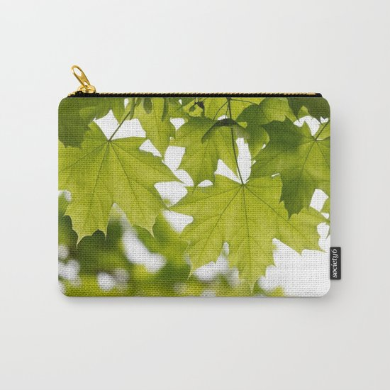 The Green Leaves of Summer Carry-All Pouch