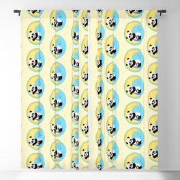 Baby Panda Boy Blackout Curtain