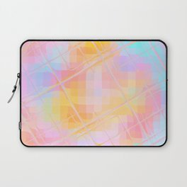Re-Created Twisted SQ XIX by Robert S. Lee Laptop Sleeve