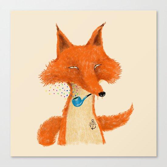 Fox III Canvas Print