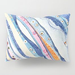 Spine Lines Pillow Sham