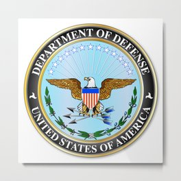 Department of Defense Metal Print