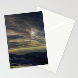 Iridiscencias en la cima del mundo Stationery Cards