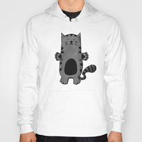 kitty Hoodies featuring Kitty by Studio14