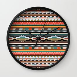 Textile Wall Clock