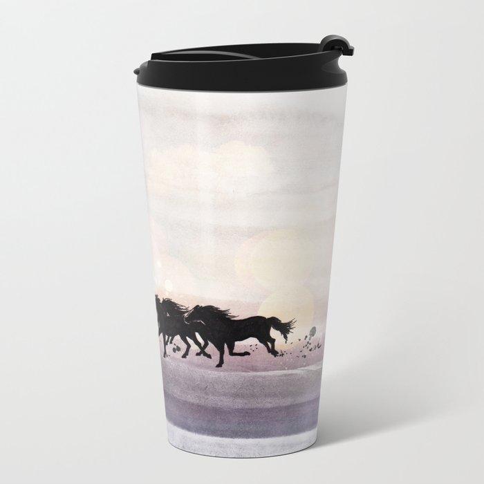 Wild And Free Metal Travel Mug
