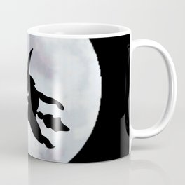 Witch, Witch Flying Across the Moon Coffee Mug
