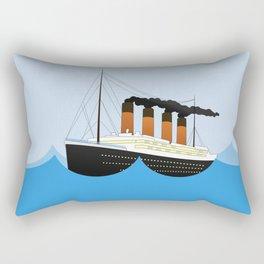 Big Ship Rectangular Pillow