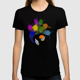 talk with the ghosts of your friends T-shirt
