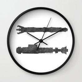 Sonic vs Laser Wall Clock