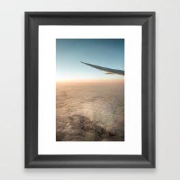 Perfect Flight Framed Art Print