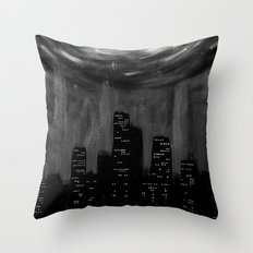 City Of Ashes Throw Pillow