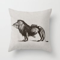 carnival Throw Pillows featuring Carnival by sustici