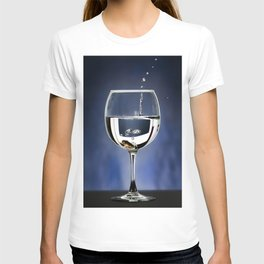 A penny in a glass T-shirt