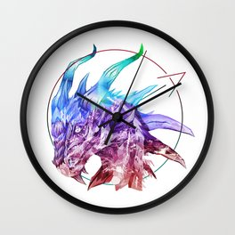 Spirt of the Dragon Wall Clock