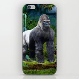 Silverback Gorilla Guardian of the Rainforest iPhone Skin