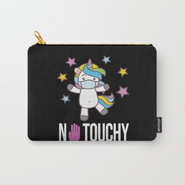 No Touchy Unicorn Carry-All Pouch