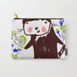 A little otter with flowers Carry-All Pouch