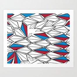 tri time Art Print