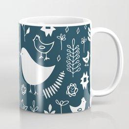 SCANDINAVIAN BIRDS Coffee Mug