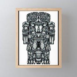 Coatlicue Framed Mini Art Print