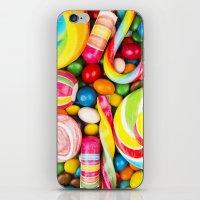 bon iver iPhone & iPod Skins featuring Bon bon by Ylenia Pizzetti