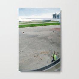 Takeoff Metal Print