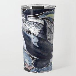 Dolphin, orca, beluga, narwhal & cie Travel Mug