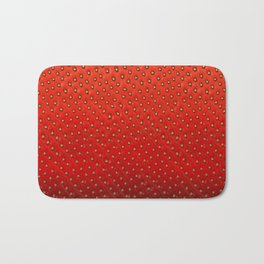 Strawberry Bath Mat